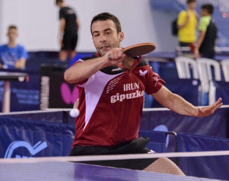 Endika Diez, jugador Irún Leka Enea (Foto: Alvaro Diaz)
