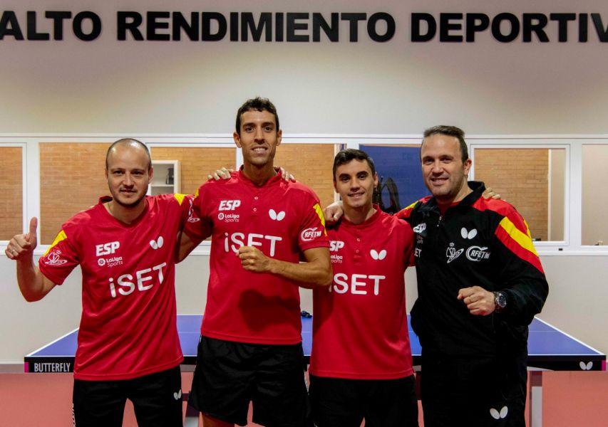 Selección Española Masculina en el CAR de Madrid