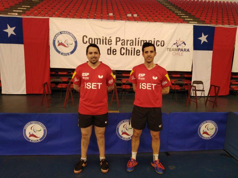 Jose Manuel Ruiz y Jorge Cardona en el Chile Open