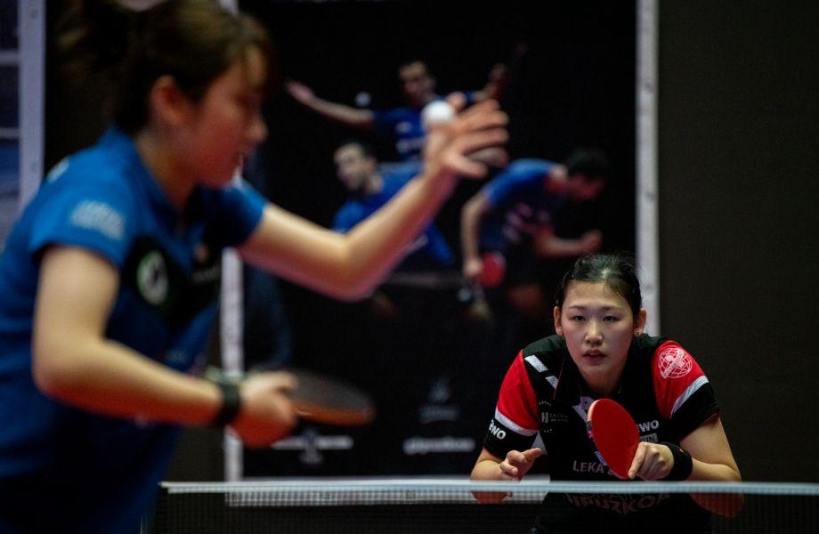 María Xiao, del Irún Leka Enea, jugando contra Reus Ganxets Miró (Foto: Alvaro Diaz)