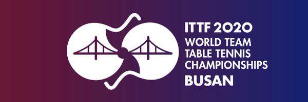 Logo ITTF 2020 World Team Table Tennis Championships Busan