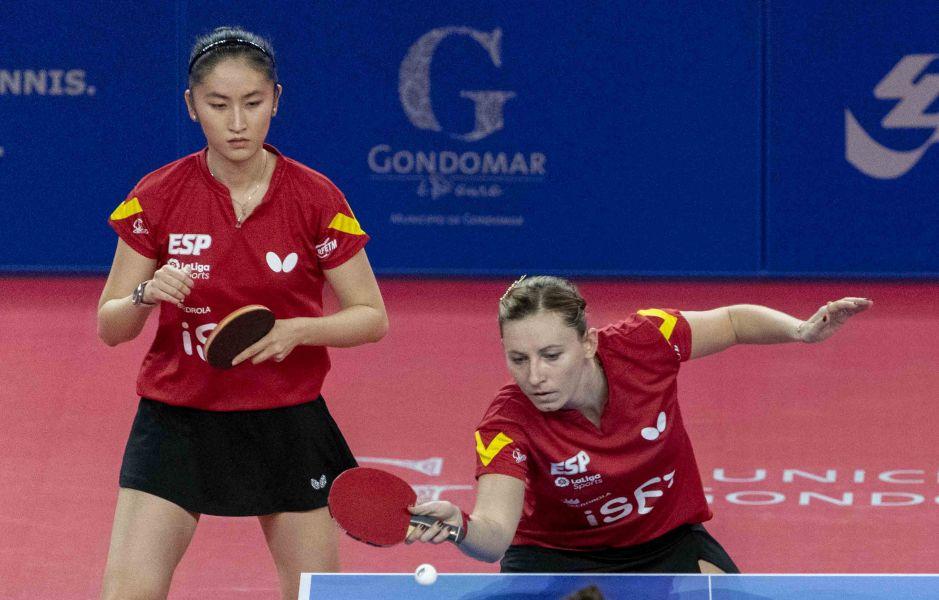 Galia Dvorak y Sofía-Xuan Zhang (Foto: Álvaro Diaz)