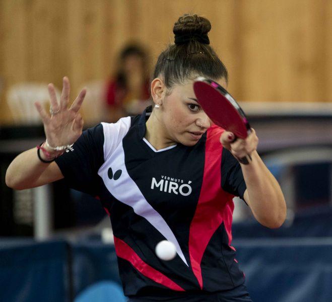 Andrea Pérez, jugadora Reus Ganxets Miró (Foto: Alvaro Diaz)