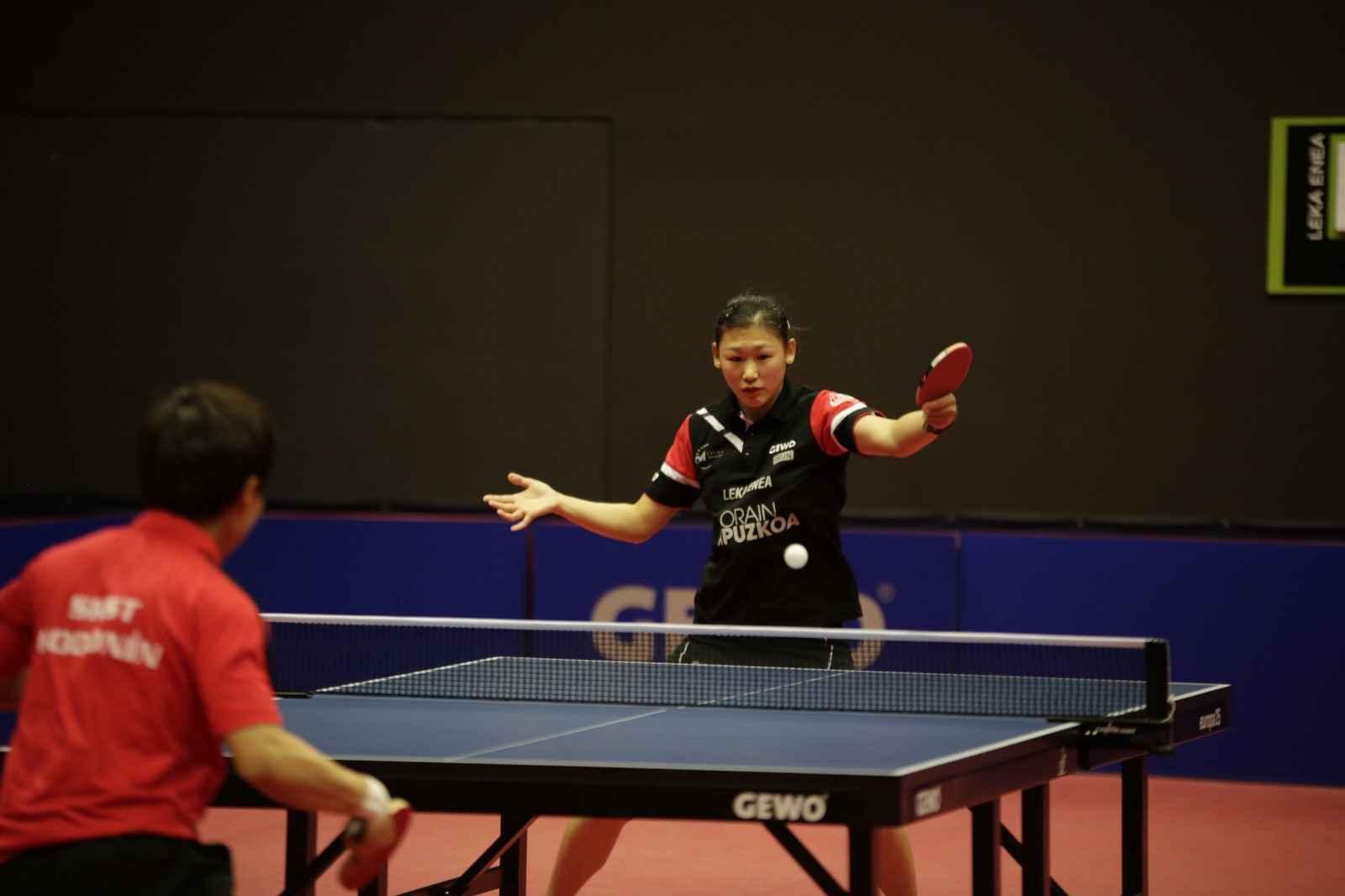 Maria Xiao, jugadora de Irún Leka Enea