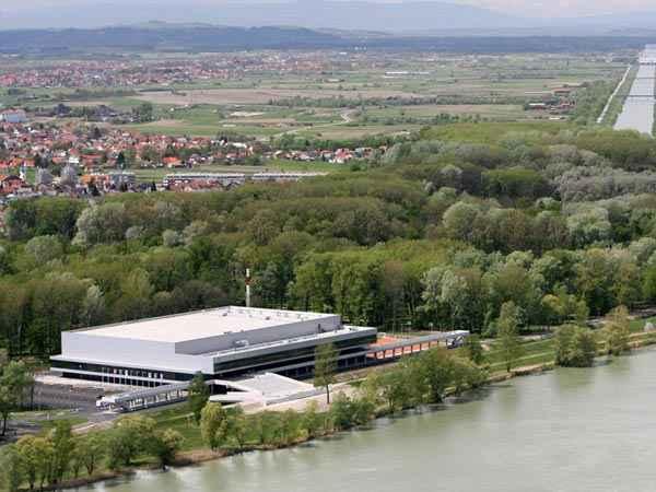 Arena Varaždin, lugar de la competición