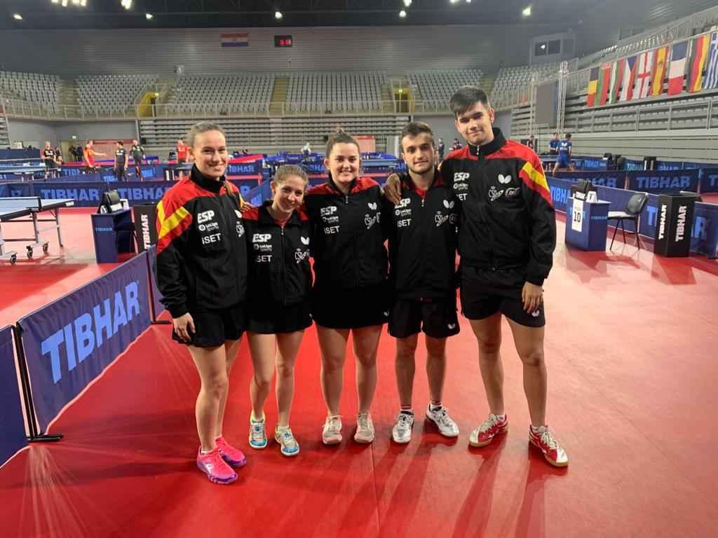Representantes españoles en el Campeonato de Europa Sub21