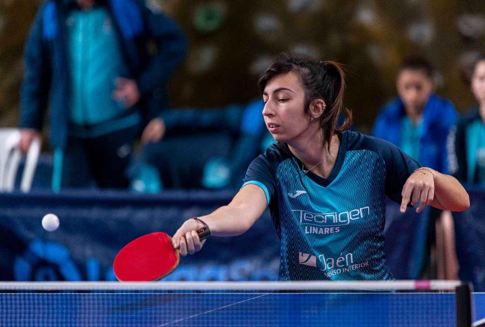 Judith Cobas, jugadora Tecnigen Linares TM (Foto: Alvaro Diaz)
