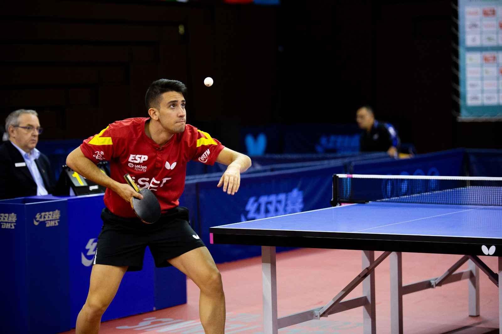 Carlos Caballero disputando un torneo internacional (Foto: Isaac Morillas)