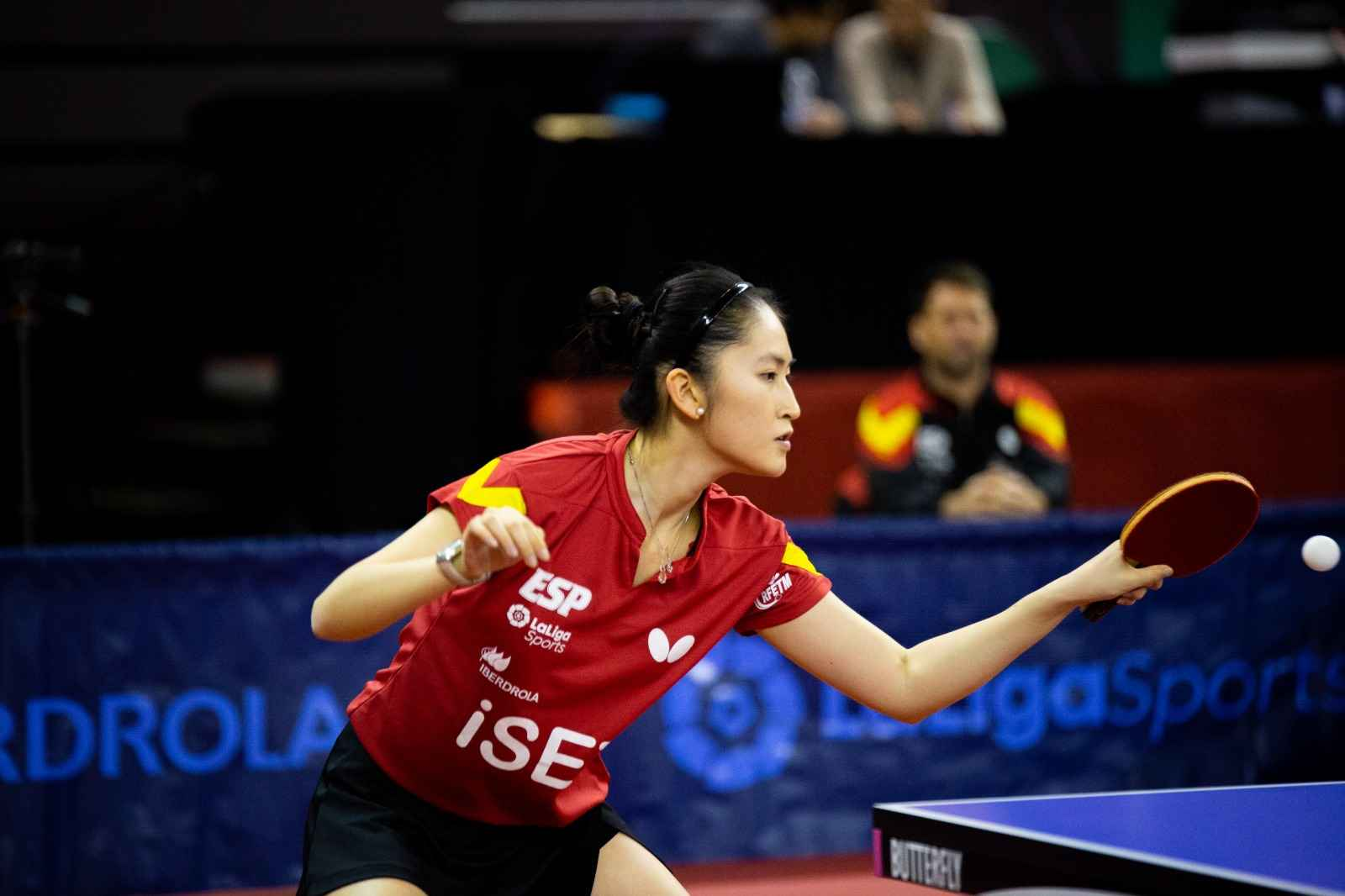 Sofía-Xuan Zhang, jugadora de la Selección Española (Foto: Isaac Morillas)