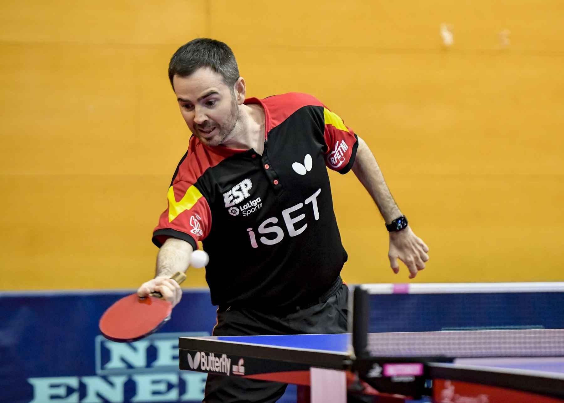 Álvaro Valera disputando el PTT Spanish Open 2020