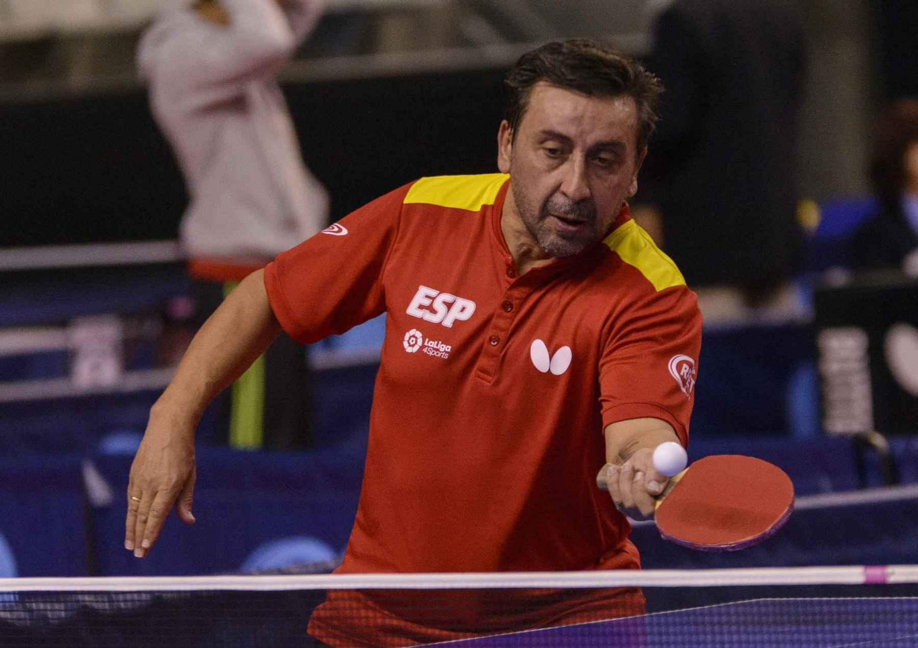 Juan Bautista Pérez disputando el Spanish Open 2017