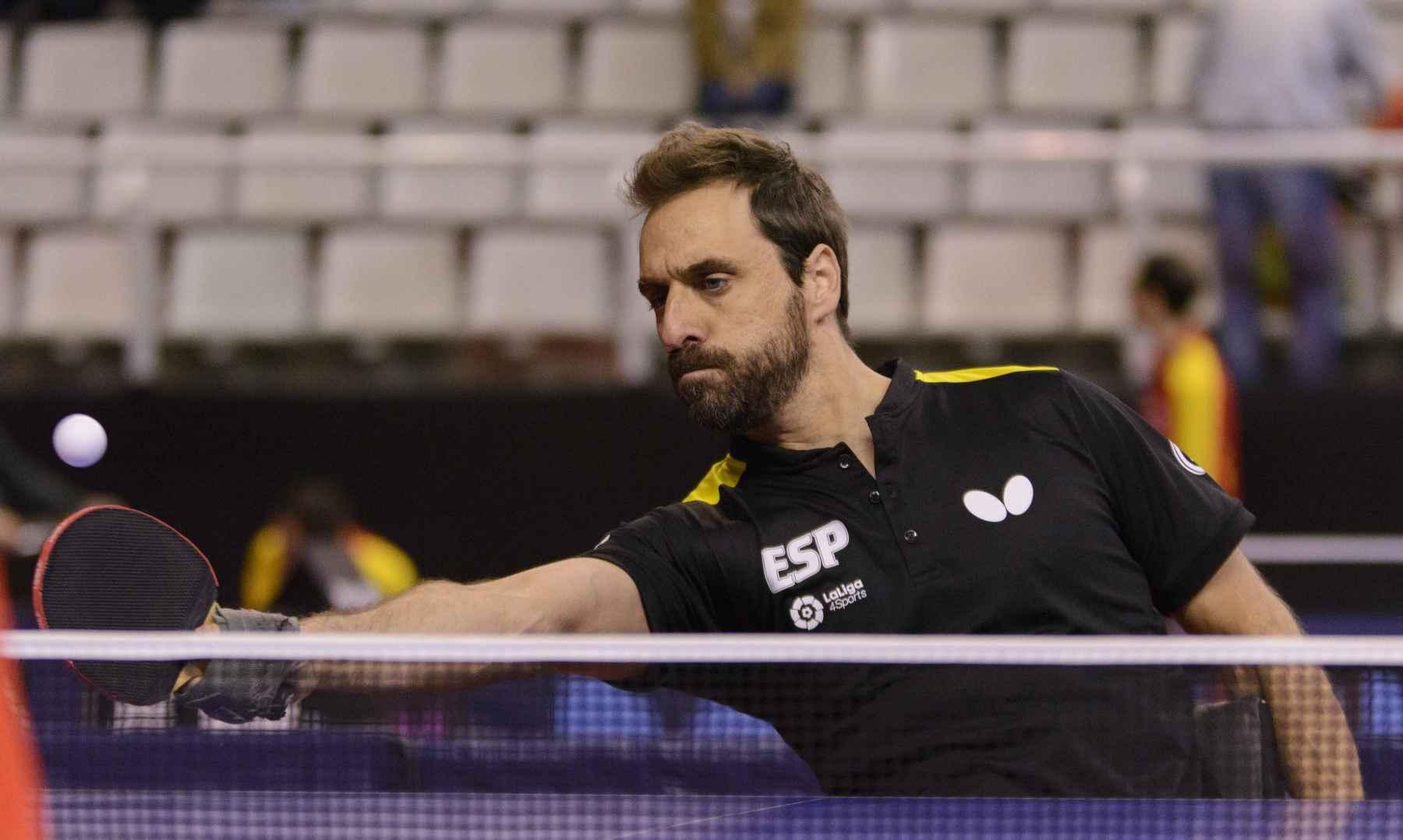Iker Sastre participando en el ParaTT Spanish Open