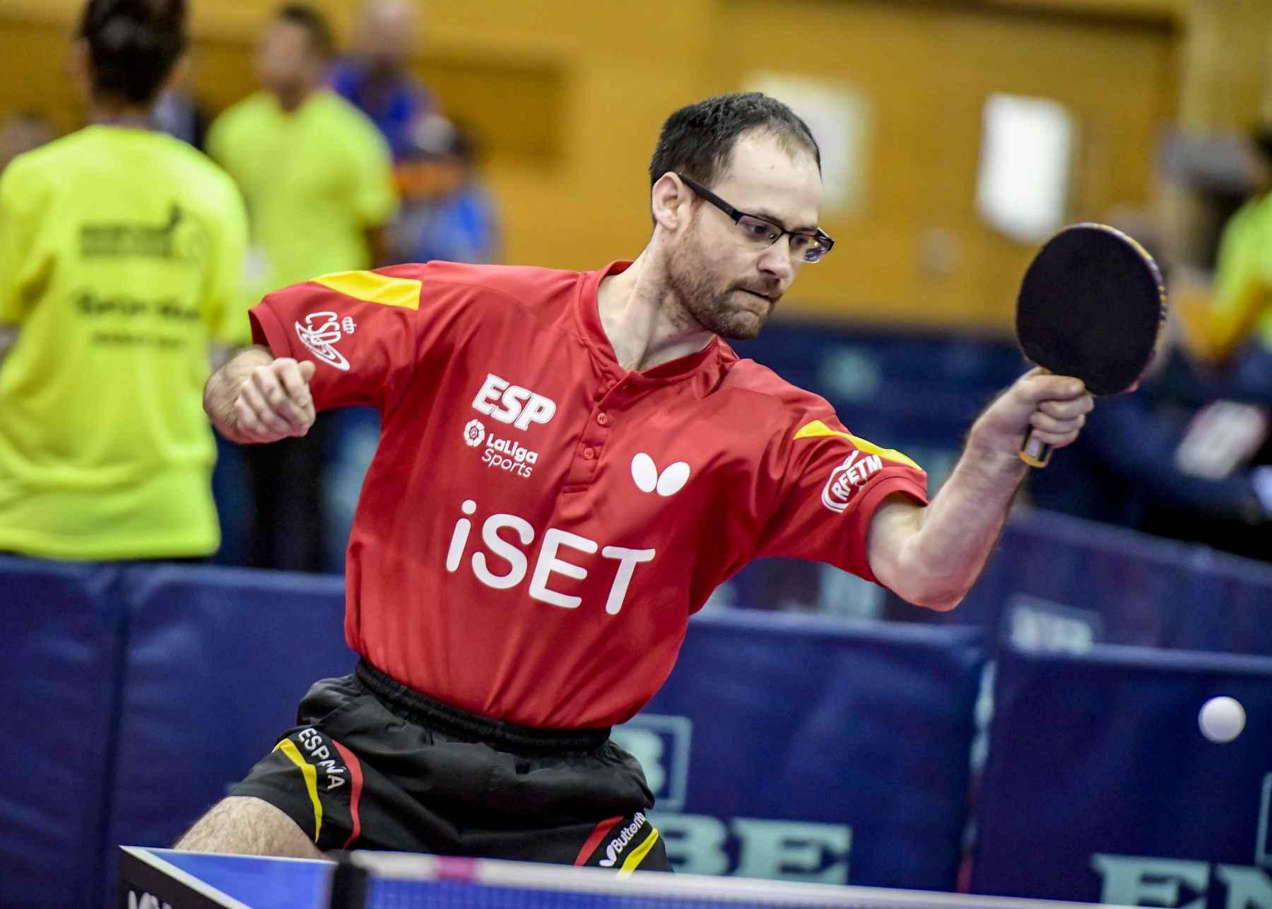 Eduardo Cuesta disputando el PTT Spanish Open 2020
