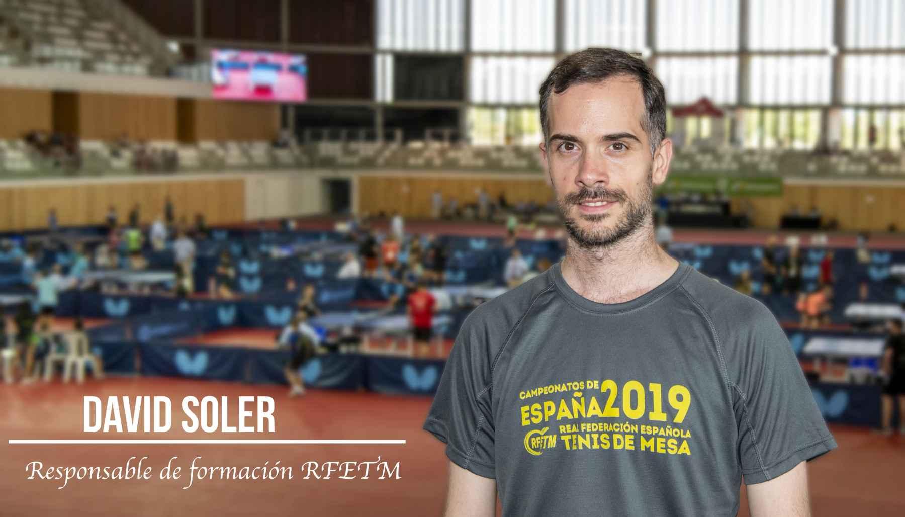 David Soler, Responsable de Formación RFETM