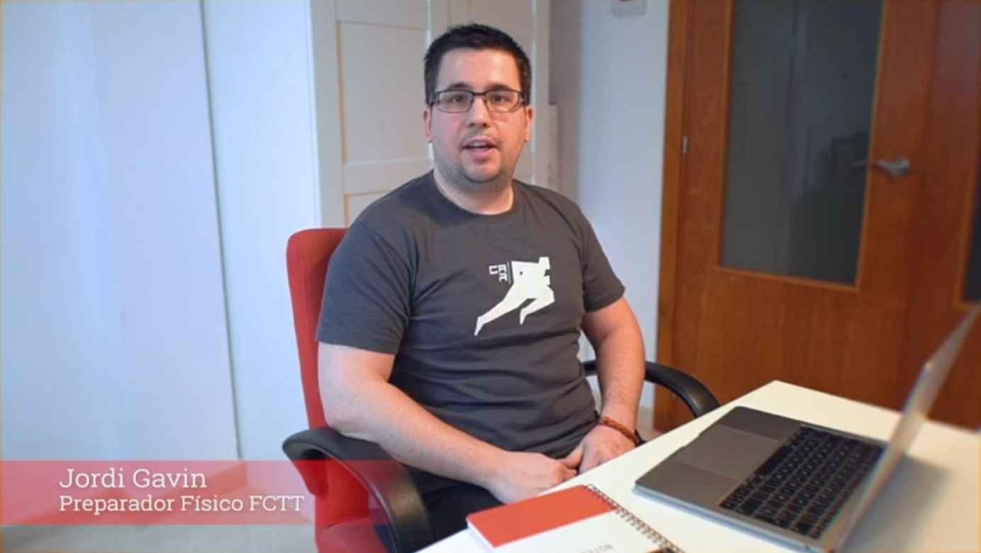 Jordi Gavin, preparador físico FCTT