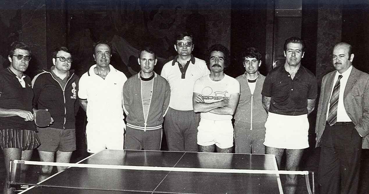 3ª visita de Núñez, Urbano, Sigfredo, Duque, Miguel, Acosta, Darias, Miguel Ángel y Polo (1978)