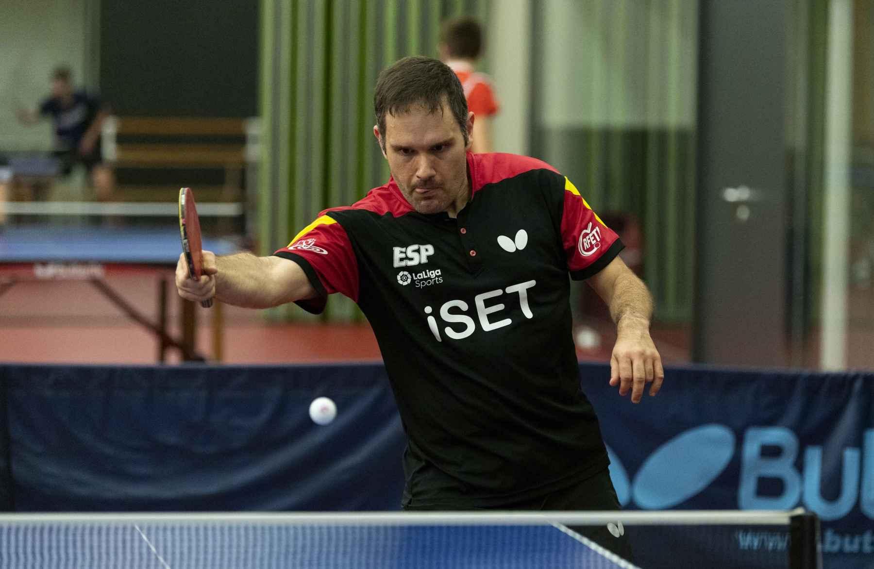 Jordi Morales, jugador de la Selección Española