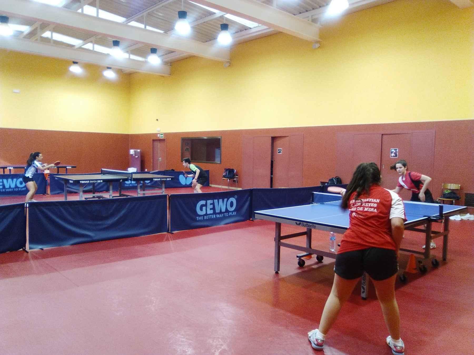 Foto: Federación Madrileña de Tenis de Mesa
