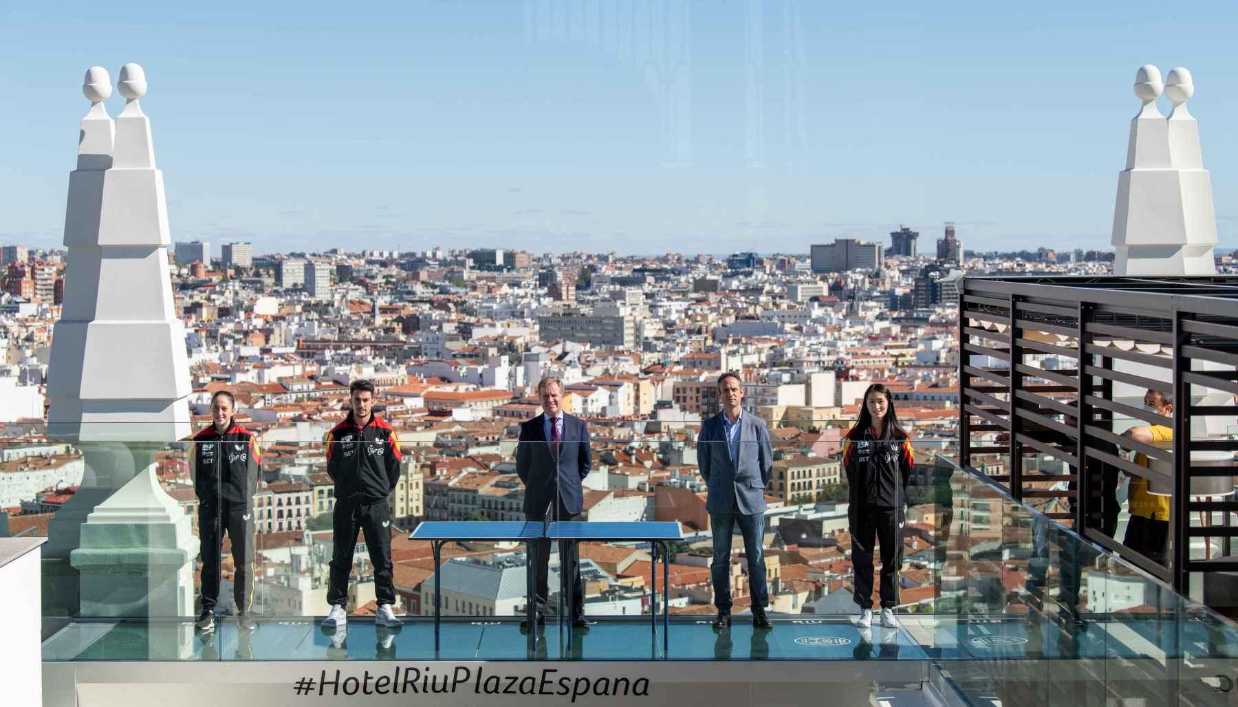 Foto de familia presentación Spain Masters 2020
