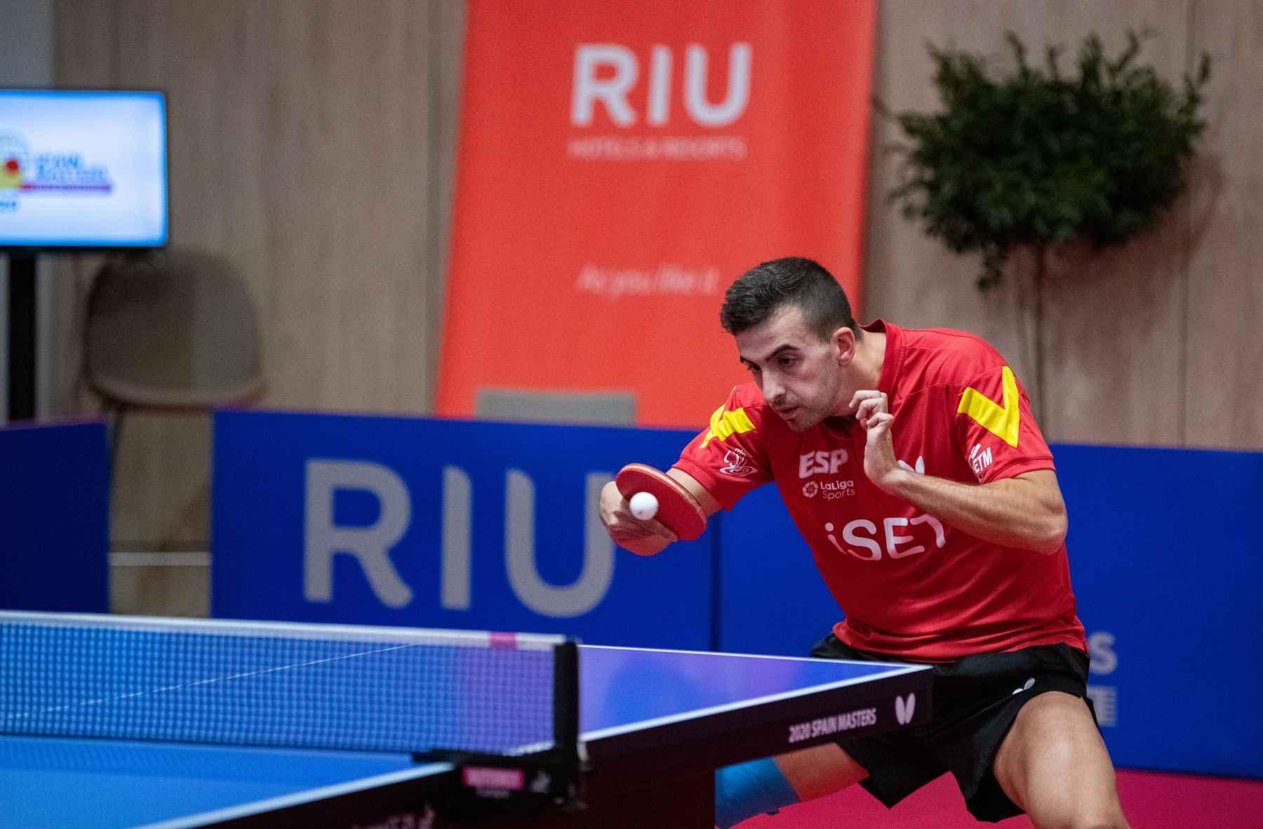 Miguel Ángel Vilchez disputa el Spain Masters 2020