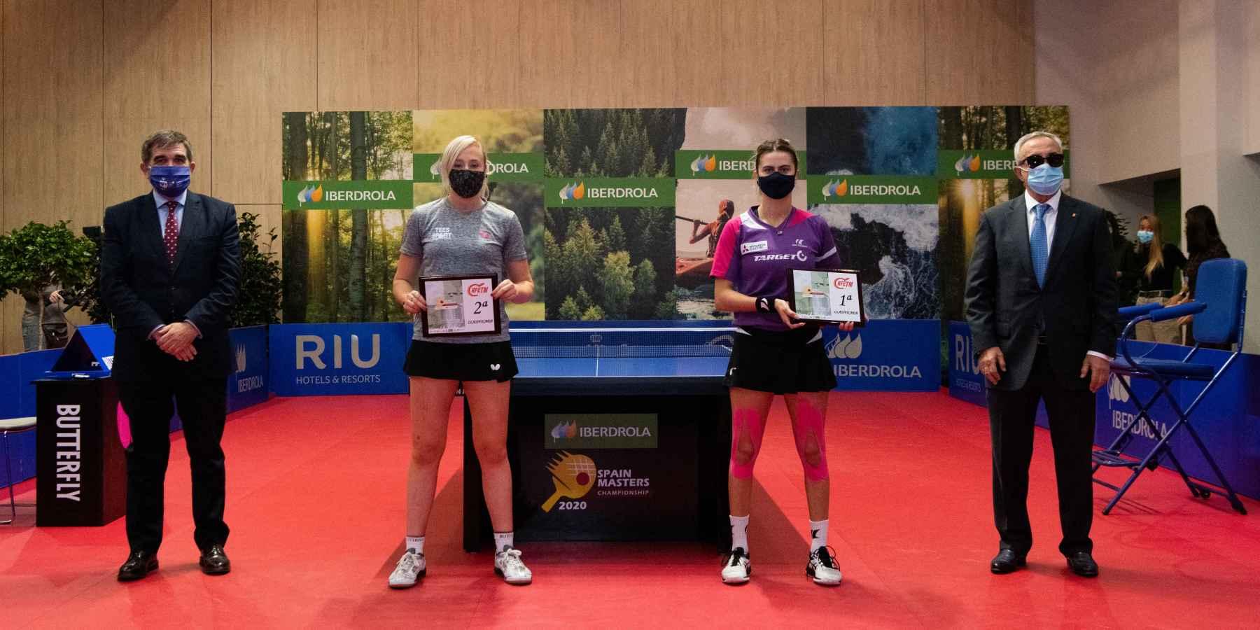 Ceremonia Iberdrola Spain Masters 2020