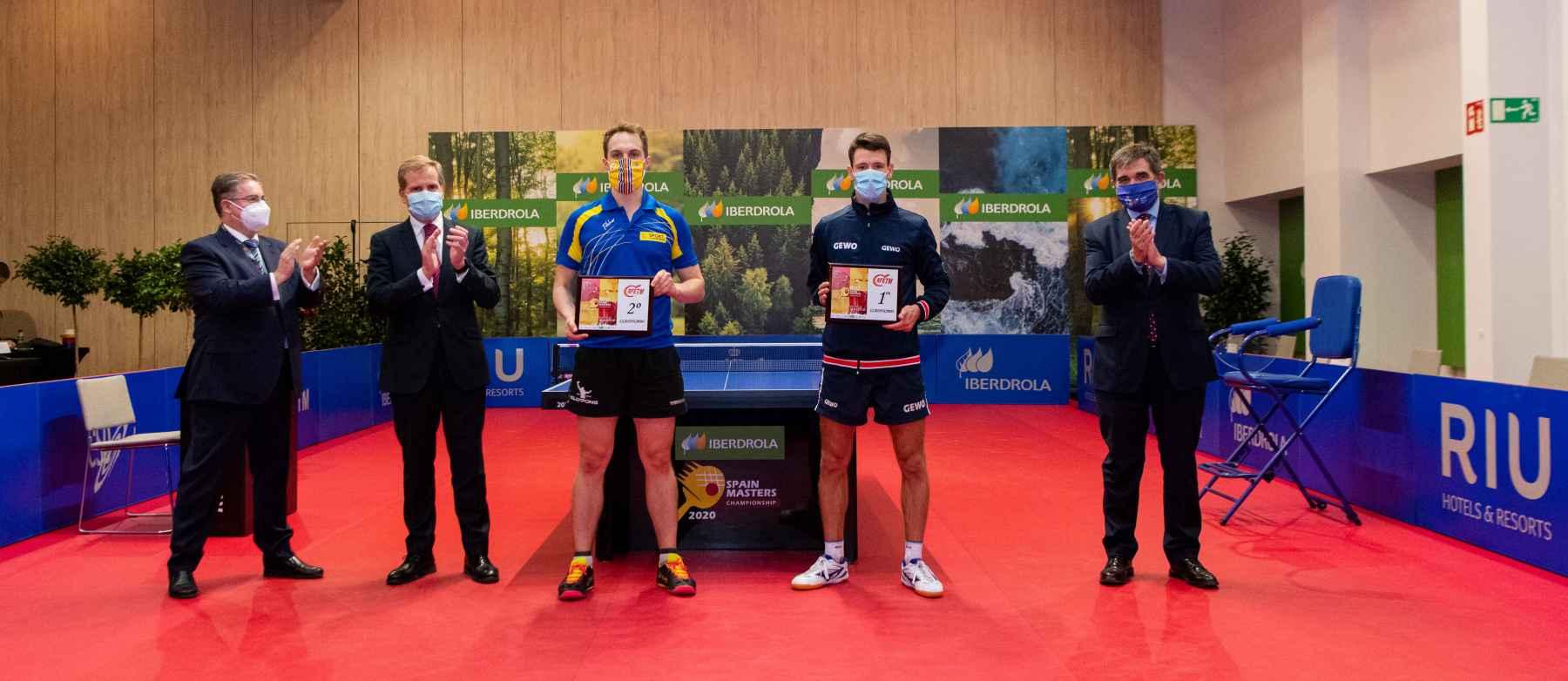 Ceremonia RIU Spain Masters 2020