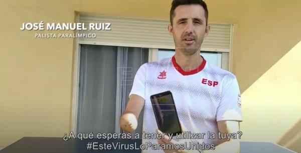 Jose Manuel Ruiz participando en el vídeo del CPE