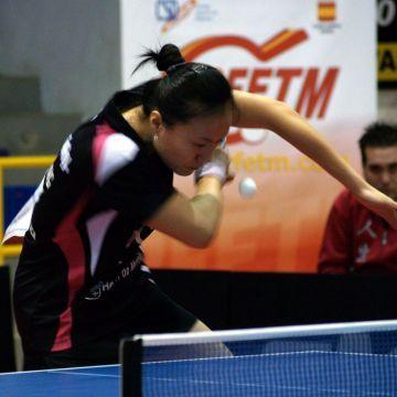 Zhu Fang, campeona de España