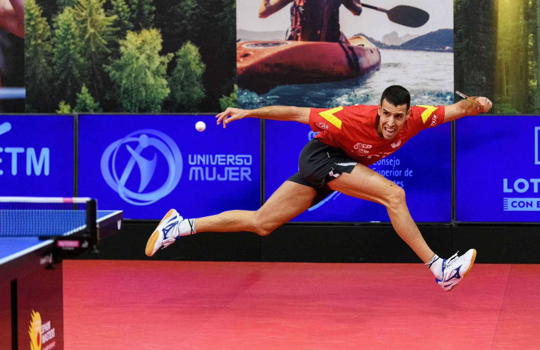 Alvaro Robles disputando los CF del Spain Masters 2020 (Foto: Alvaro Diaz)