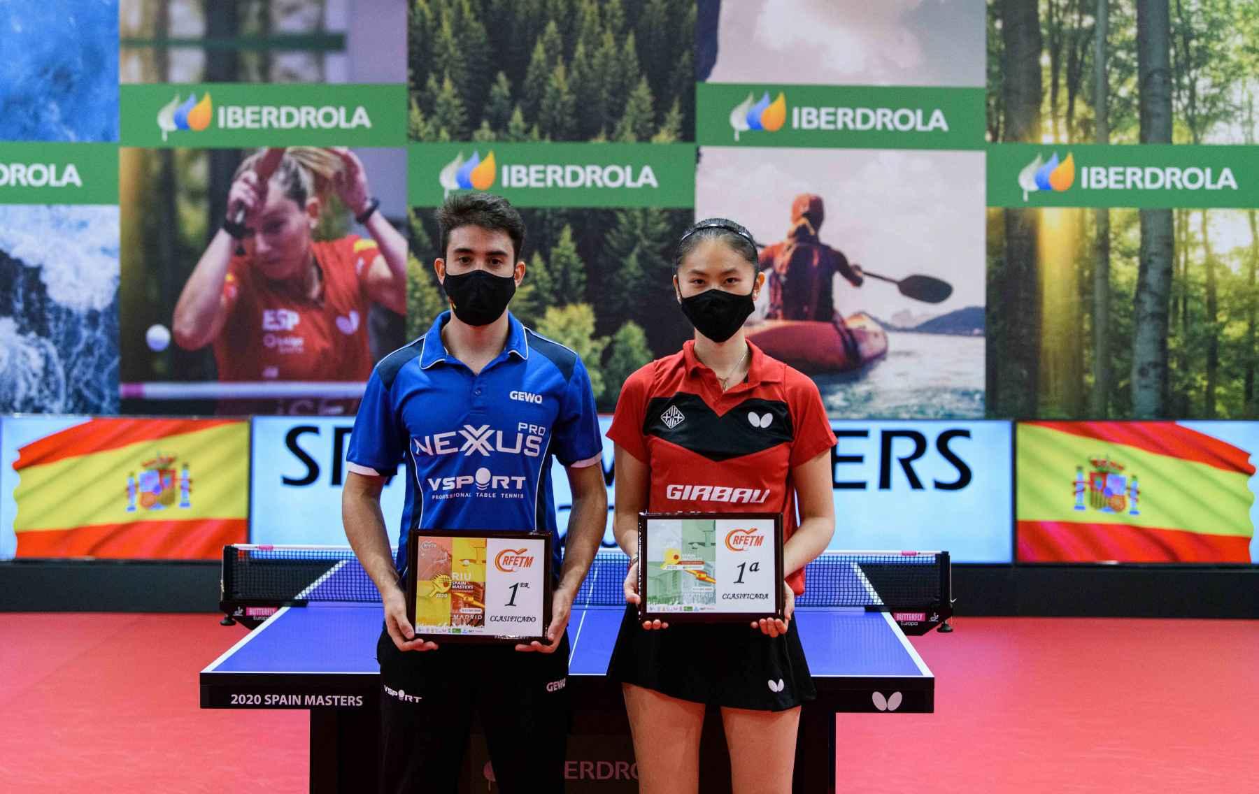 Sofía-Xuan Zhang y Carlos Caballero, campeones del III Spain Masters 2020