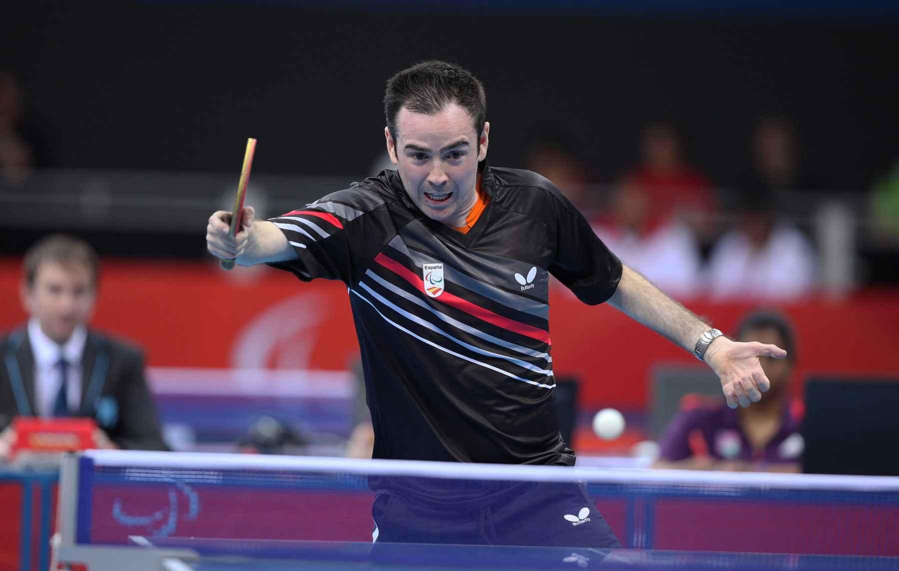 Álvaro Valera disputando Juegos Paralímpicos