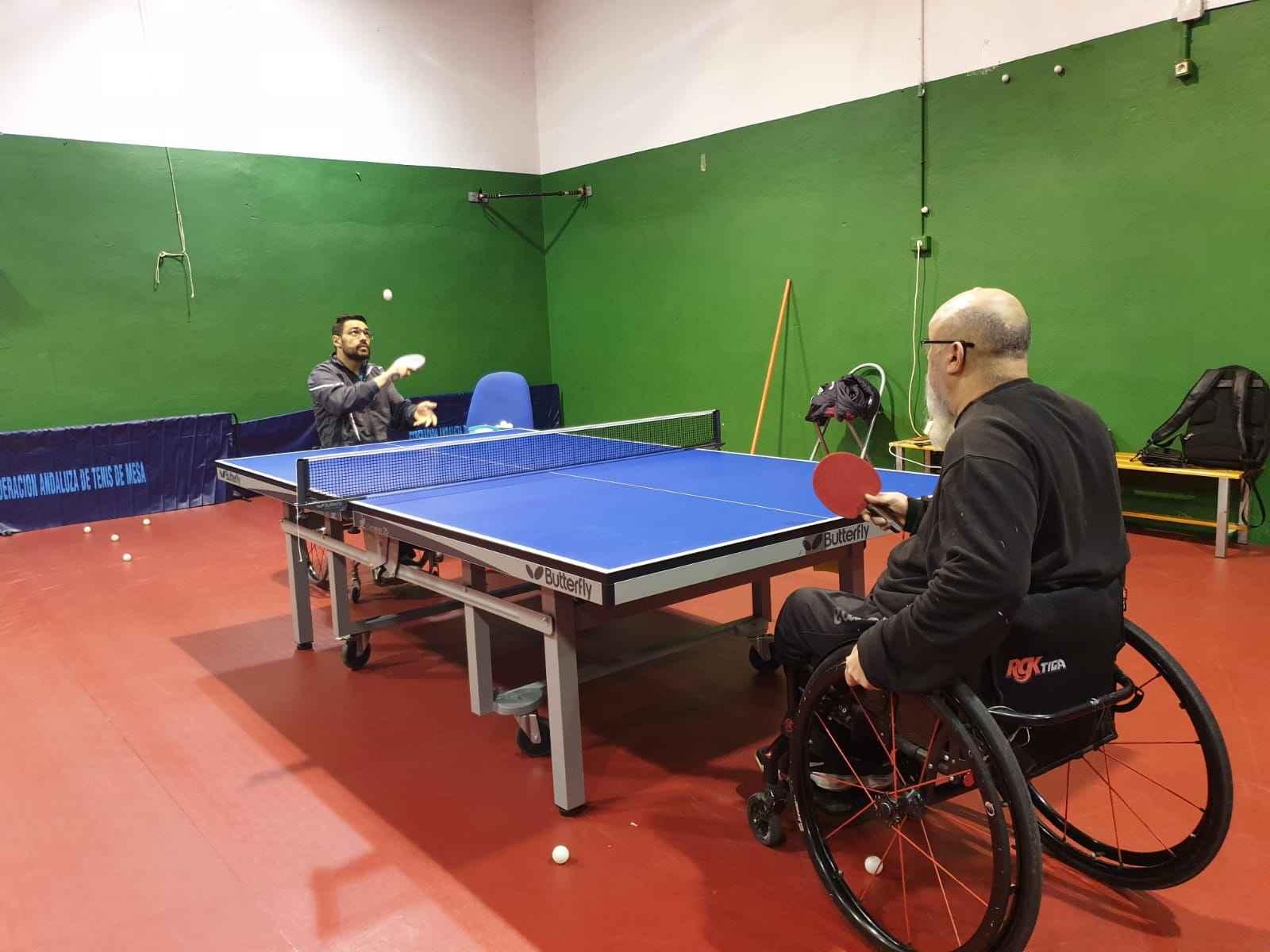 Miguel Rodriguez y Francisco Javier López entrenando juntos en La Zubia