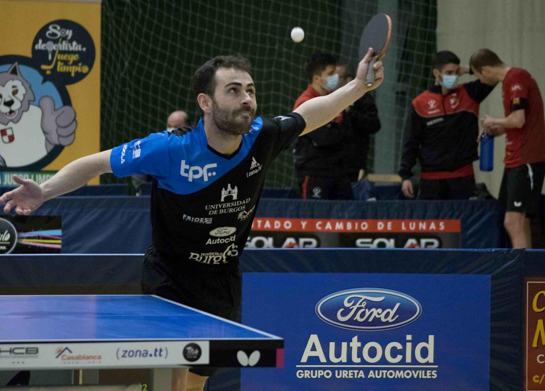 Jorge Ausin, jugador Universidad de Brugos TPF (Foto: María Casas)