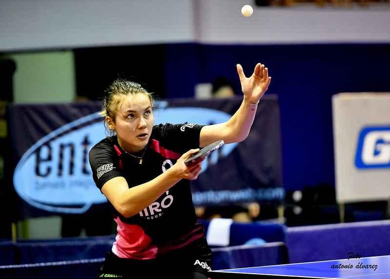 Anastasia Kolish, jugadora Reus Ganxets Miró (Foto: Antonio Alvarez / FCTT)