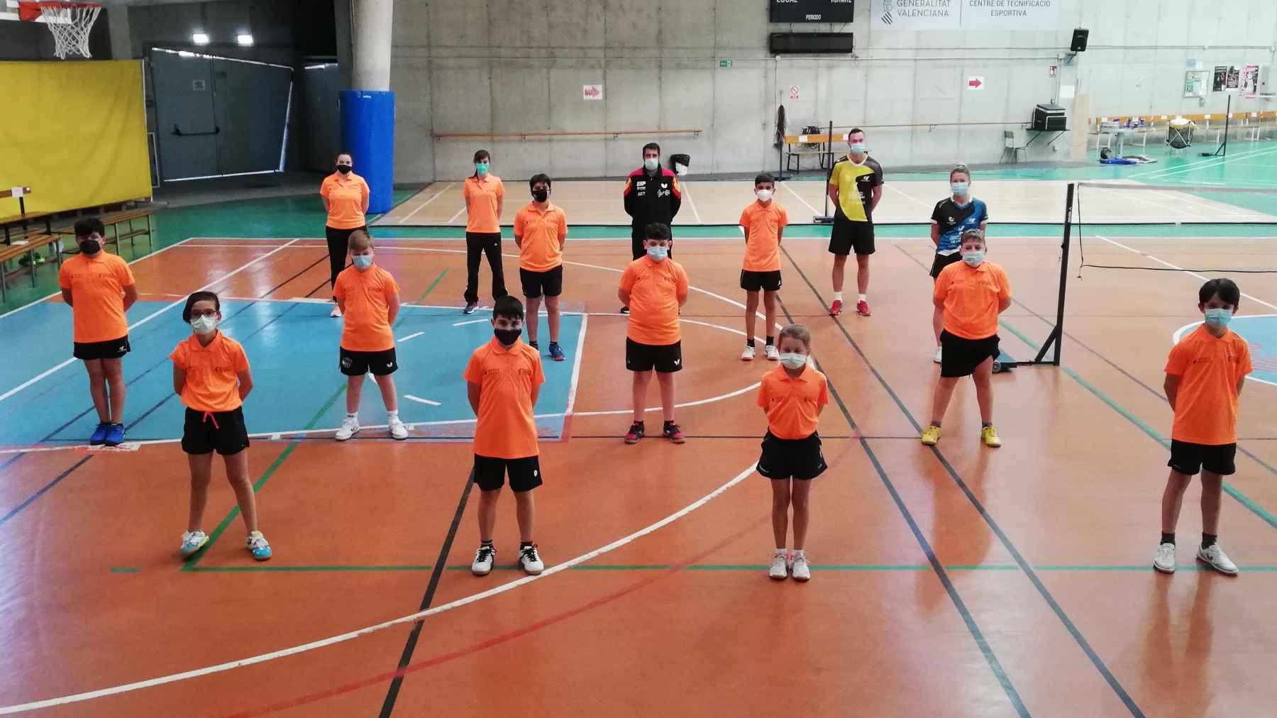 Foto de Familia Concentración Mini Spin Alicante