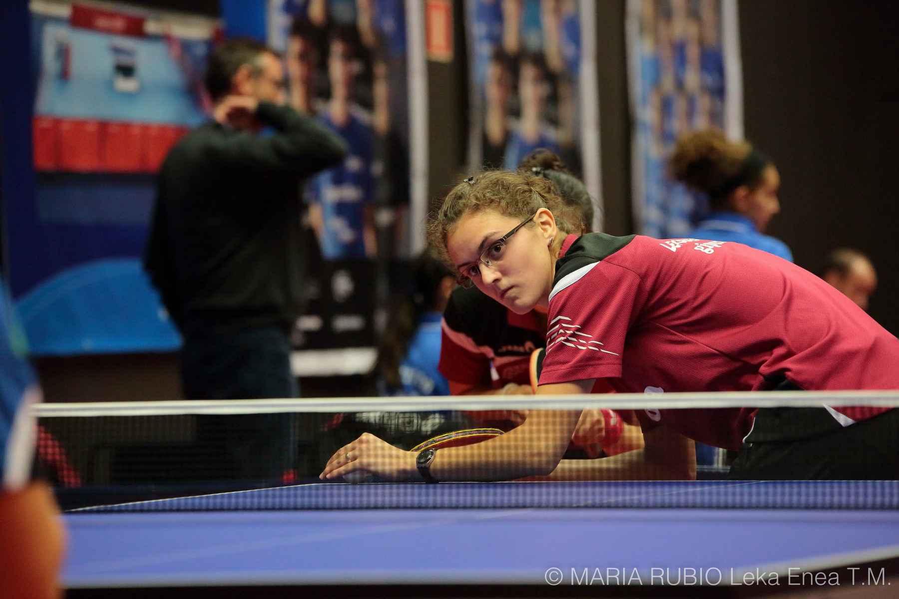 Ioana Tecla, jugadora Irún Leka Enea TM Chema Gewo (Foto: Maria Rubio)