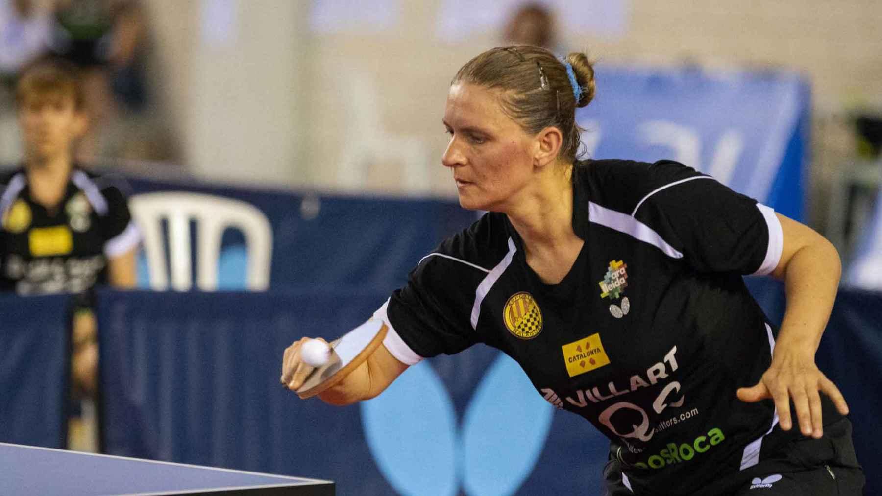 Svetlana Bakhtina, jugadora del Balaguer Piera Ecocerámica (Foto Archivo RFETM)