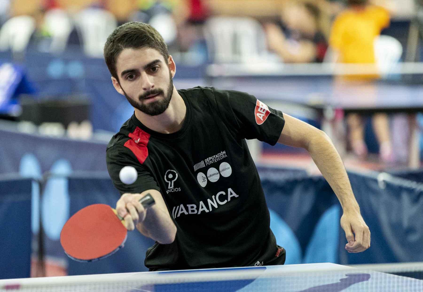 Martin Pintos, jugador AD Vincios (Foto: Alvaro Diaz)