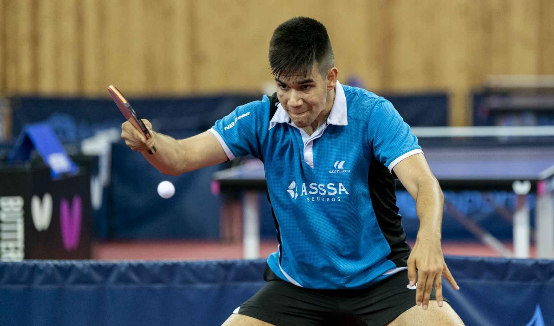 Alberto Lillo, jugador ASSSA Alicante TM (Foto: Alvaro Diaz)