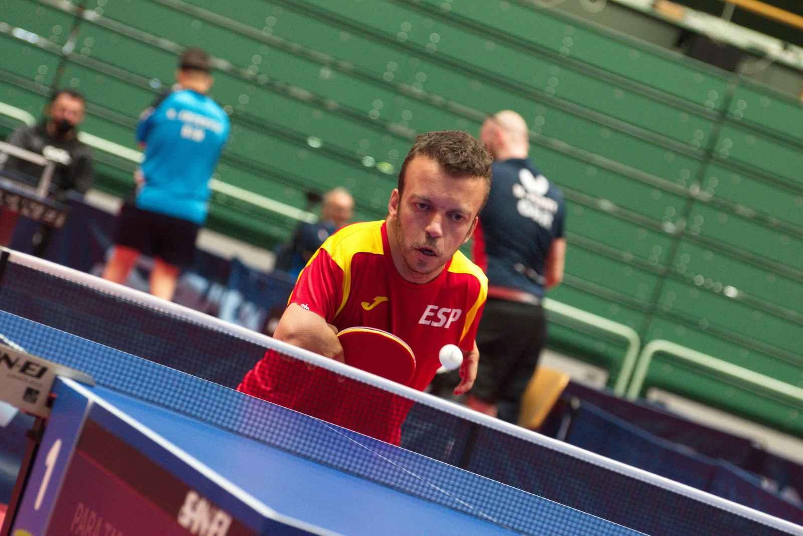 Alberto Seoane participando en el PreParalímpico Mundial (Foto: NOC Slovenia)