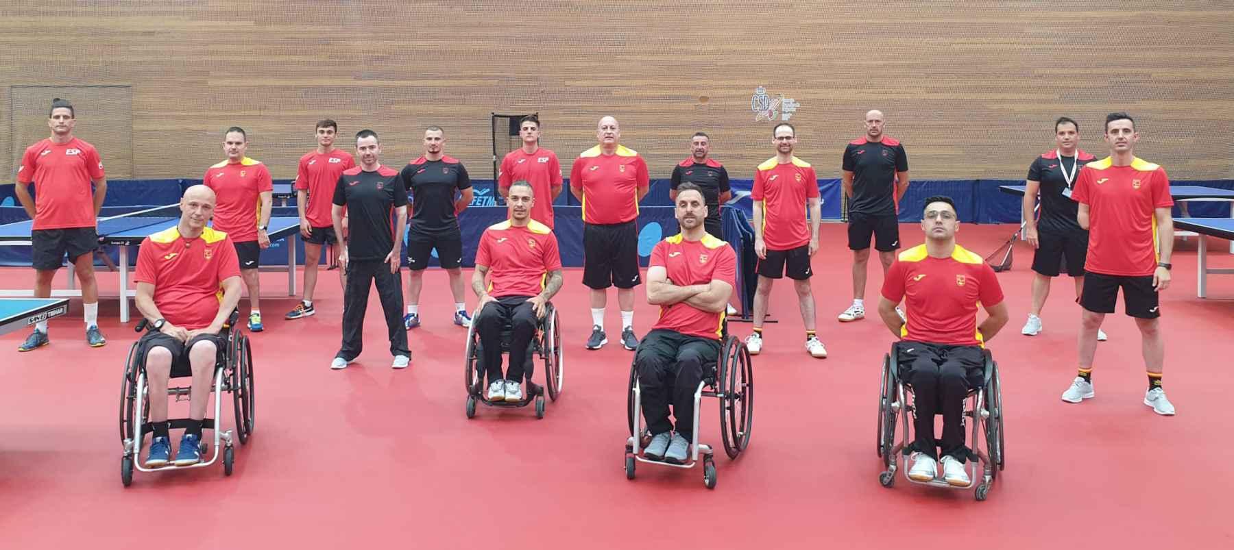 Equipo Paralímpico al completo