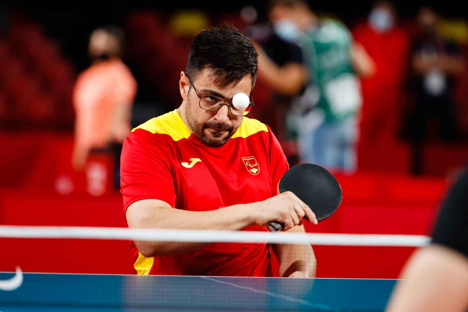 Francisco Javier López disputando los Juegos Paralímpicos de Tokyo 2020 (Foto: CPE)