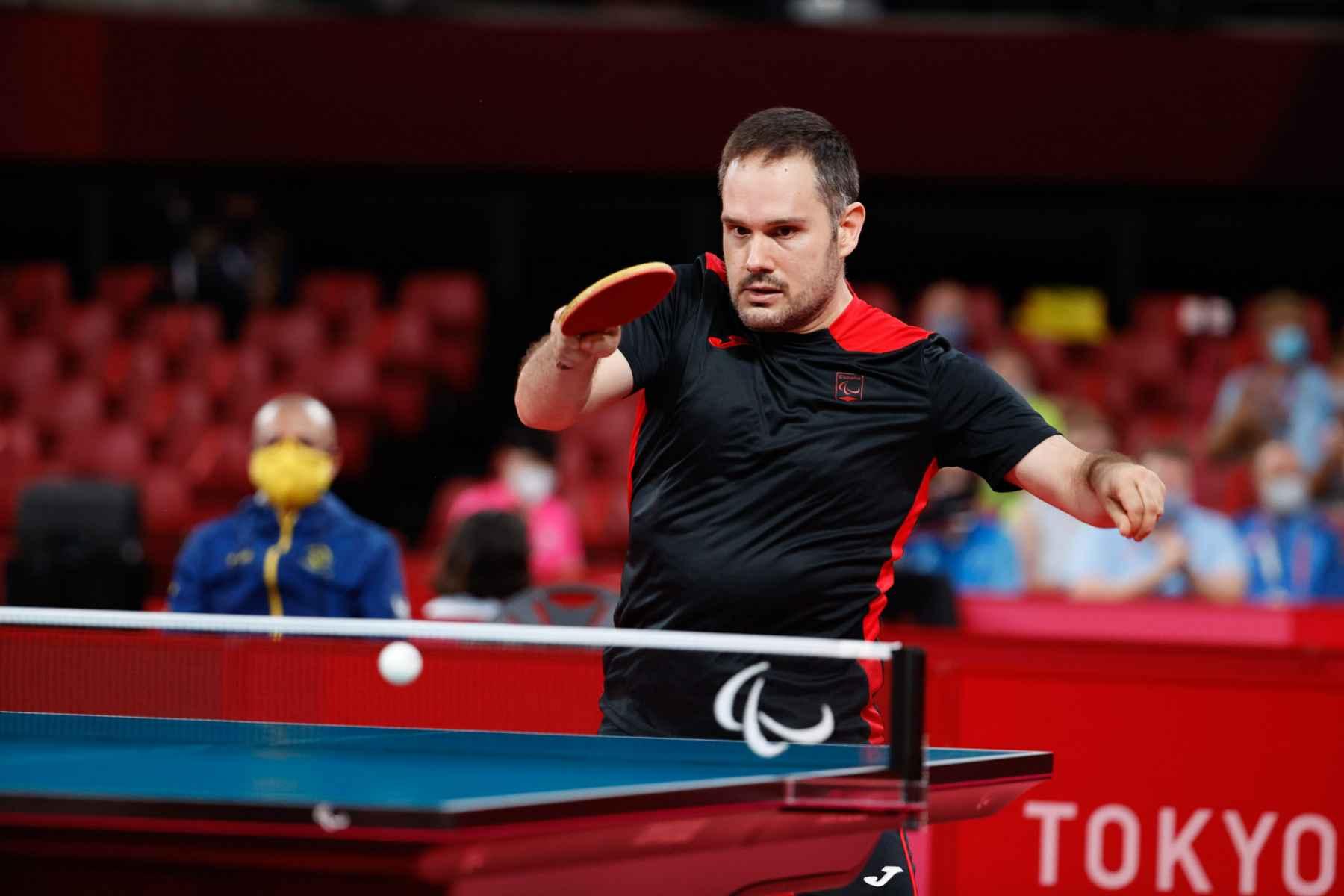 Jordi Morales disputando los Juegos Paralímpicos de Tokyo 2020
