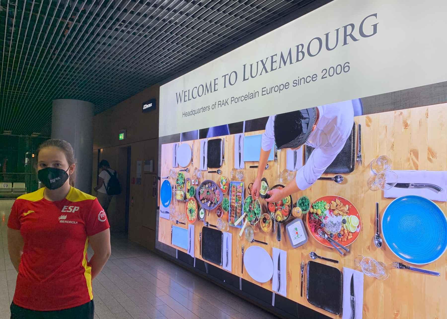 Maria Berzosa en Luxemburgo