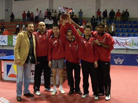 El San Sebastián de los Reyes celebra el título de Liga