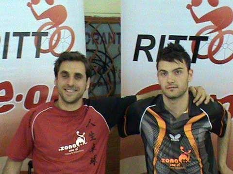 Iker Sastre y Antonio Zaplana.